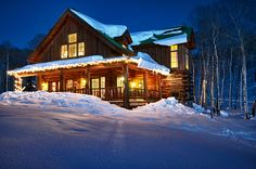 Cabin Ranch in the winter!