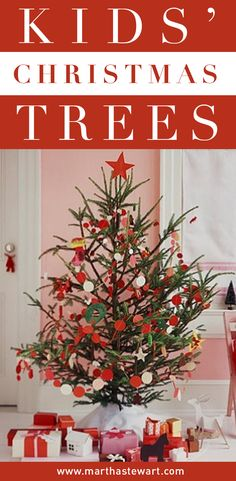 Make decorating the Christmas tree a family affair by encouraging kids to create their own decorations using yarn, cotton balls, tinfoil, and other items found around the house. Here are nearly a dozen kid-friendly tree themes that are easy, beautiful, and practical.
