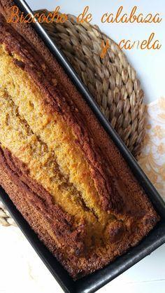 Bizcocho de calabaza y canela | Cocinar en casa es facilisimo.com