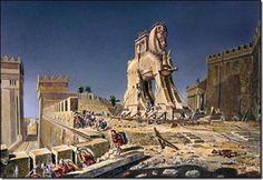 El Caballo de Troya, que fue una historia escrita por Homero, como un armamento para atacar al enemigo, ocupando la inocencia del otro.