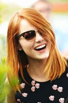 Reason Emma Stone would be the BEST BFF. (Also, she has rockin' hair)