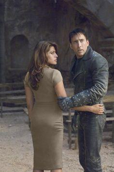 Nicolas Cage and Eva Mendes, Ghost Rider, 2007