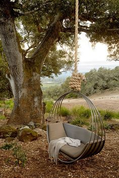 Outdoor Swing Sets For Adults Landscape Mediterranean With Hanging Chair Natural., Sets landscaping Outdoor Swing Sets For Adults Landscape Mediterranean With Hanging Chair Natural. Outdoor Spaces, Outdoor Living, Outdoor Decor, Outdoor Swings, Outdoor Swing Chair, Outdoor Hanging Bed, Indoor Swing, Outdoor Daybed, Outdoor Chairs