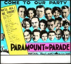 Paramount on Parade (1930) // Edmund Goulding, Dorothy Arzner, Ernst Lubitsch, Rowland V. Lee, A. Edward Sutherland, Victor Heerman, Lothar Mendes, Otto Brower, Edwin H. Knopf, Frank Tuttle, and Victor Schertzinger