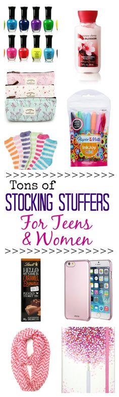 Stocking stuffer ideas for women and teenage girls