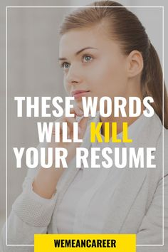 Looking for resume writing tips? Read our article and learn which words to avoid. Don't let your resume fall victim to clichés and trendy buzzwords. Resume Writing Tips, Resume Tips, Resume Ideas, Cover Letter Tips, Cover Letter For Resume, Nursing Resume Examples, Job Interview Tips, Job Interviews, Resume Photo