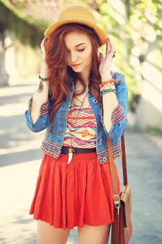 Super cute summer outfit perfect for sunny days
