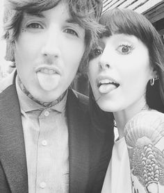 oli sykes + hannah snowdon - I'm not even upset that he has a gf because she's just as perfect as he is