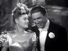 Alexis Smith and Errol Flynn - Film: Gentleman Jim