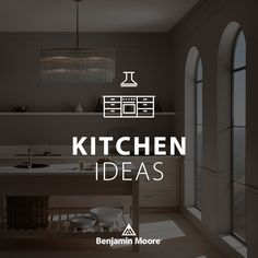 Kitchen Sets, Kitchen Tools, Beautiful Kitchens, Cool Kitchens, Paint Color Palettes, Benjamin Moore Paint, Kitchen Paint Colors, Kitchen Photos, Design Projects