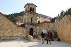 Visit Loutraki and discover picturesque monasteries, nunneries and numerous Christian Orthodox temples found in the area.