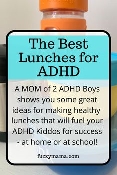 Adhd Odd, Adhd And Autism, Healty Lunches, Healthy School Lunches, Kid Lunches, Adhd Supplements, Adhd Facts, Adhd Help, Adhd Diet