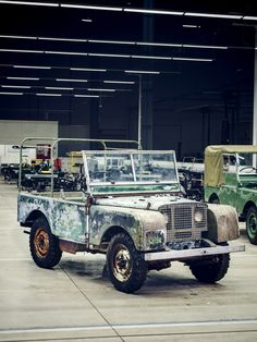 The Land Rover That Began It All Has Returned Home #LandRover #ClassicLandRover