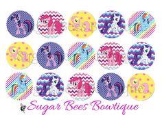My Little Pony Bottle Cap Images