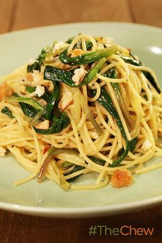 This Spaghetti with Ramps pasta dish is perfect for a spring lunch or dinner!