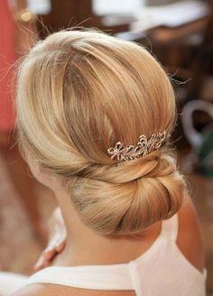 30 penteados com coques perfeitos para casamento - Ka Rigobeli