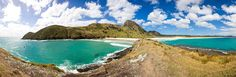 Spirits Bay Doc campsite: The bay is 12 kilometres in width. It is one of two bays (the other being Tom Bowling Bay) in the short length of coast that marks the tip of the North Island. A long walking path, about 8.5 kilometers (5.3 miles) long, runs beside the bay.