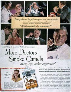 IlPost - Sigarette Camel - Secondo+un+recente+sondaggio+nazionale I+medici+fumano+più+Camels+che+altri+tipi+di+sigarette!