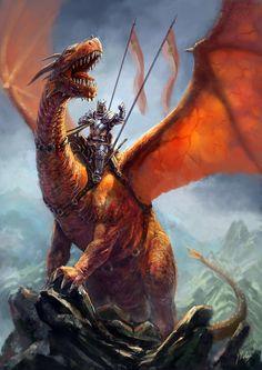 Dragon Rider by gabahadatta on dA