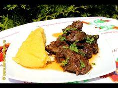Ficatei cu ceapa si usturoi la tigaie | Farfuria vesela - YouTube Romania Food, Jamie Oliver, Brunch, Cooking Recipes, Keto, Dinner, Foods, Youtube, Food