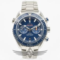 #Omega #Seamaster Planet Ocean Chronograph Blue Dial Blue Ceramic Bezel Calibre 9300 Automatic Movement Dive Watch 232.90.46.51.03.001 #OCWatchCompany #WatchStore #WalnutCreek