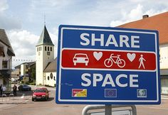Accident-free zone: The German town which scrapped all traffic lights and road signs