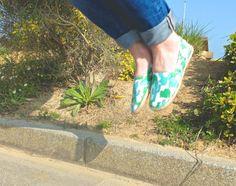 Mes espadrilles-cactus H&M