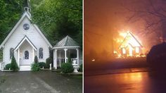 Cupid's Chapel of Love  Bride's Gatlinburg wedding cancelled after chapel is destroyed