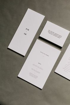 The Collection – Duo Concept – Wedding Ideas Modern Wedding Stationery, Wedding Stationery Inspiration, Wedding Stationary, Wedding Invitations, Wedding Inspiration, Stationery Design, Invitation Design, Invitation Cards, Branding Design