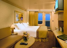 We booked the cabin with the balcony, we are going to experience an amazing view from our room on the cruise ship :D