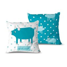 cojin-oink-1 Textiles, Throw Pillows, Cribs For Babies, Cushion Covers, Filing Cabinets, Cushions, Cloths, Fabrics, Decorative Pillows