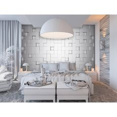 Edgy modern cube design and monochromatic color makes the Ideal Decor Cubes Wall Mural a sleek addition to a wall. The blue back paper design comes. Decor, Wall, Wall Murals, Mural, Cube Design, Interior, Contemporary Wall, Home Decor, Brewster Home Fashions