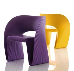 Original violet and yellow