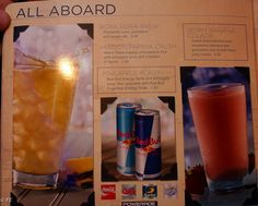 WOW literally all of the drinks with prices served on board Royal Caribbean