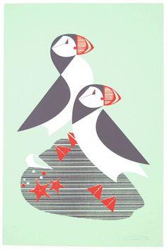 Atlantic Print By Eleanor Grosch