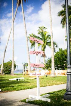 Pink Florida Wedding by Set Free Photography - Southern Weddings Magazine