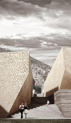 3TI_LAB, Primer Lugar en concurso de diseño del nuevo centro cívico de Villacidro / Italia