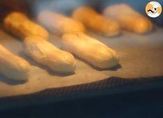 Éclairs au chocolat (expliqués pas à pas), Recette Ptitchef 20 Min, Beignets, Deserts, Food And Drink, Vegetables, Chocolate Filling, French Recipes, Chocolate Eclairs, Coconut Cream