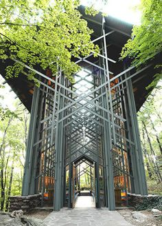 In Eureka Springs Arkansas, Where me and my wife took our honeymoon. This is the Temple of Glass, Beautiful building up randomly in the mountains!