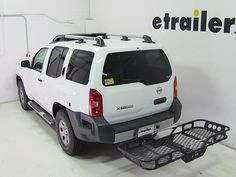 Run out of room inside your car? Use this rugged Rola hitch cargo carrier to haul more gear.