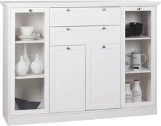 Highboard Landwood weiß 160 x 120 | online bei POCO kaufen