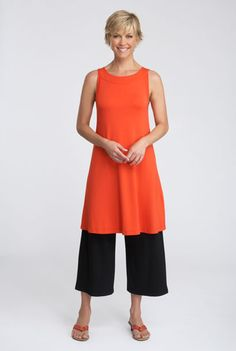 tunic dress/cropped pants