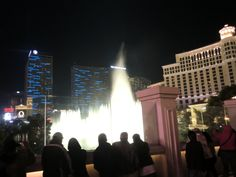 The Fountains of Bellagio at Bellagio Resort and Casino in Las Vegas