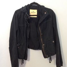 Hollister Jacket Navy Hollister Jacket. Has been worn but no signs of wear Hollister Jackets & Coats