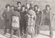 Mods and Rude Boys at School