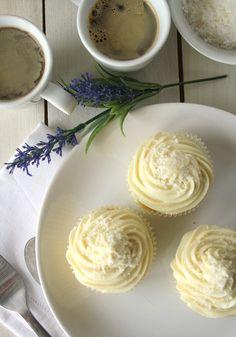 Lemon & Coconut Cupcakes, Luscious