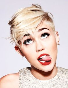 Miley Cyrus- I still like Miley. Who cares if she's changed her look. It's still her, she's still living her life.