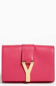 Saint Laurent 'Y Chain - Mini' Leather Handbag