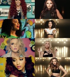 Little mix.. look how they've changed and still remained good role models.. <3 u mixers