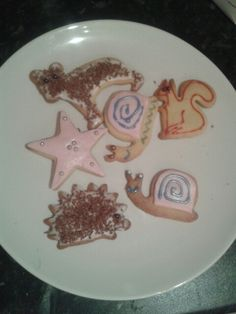 Character biscuits